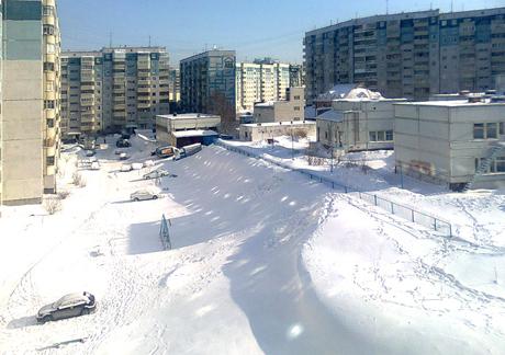 Зима на МЖК