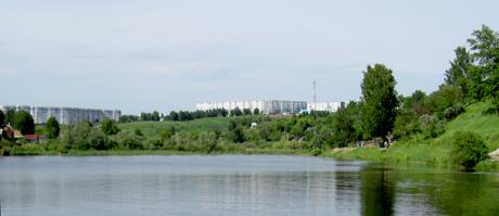 Озеро на МЖК