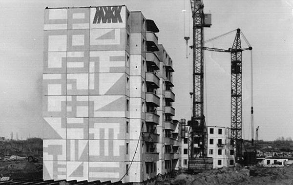 Строительство первого дома №10